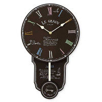 【アウトレット】キシマ デッサン ウォールクロック 掛時計 1個 KH-60812