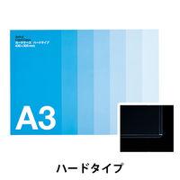 アスクル カードケース ハードタイプ A3 20枚
