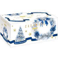 ティッシュペーパー スコッティ カシミヤ ダイヤモンドクリスマス 220組(1箱) 日本製紙クレシア
