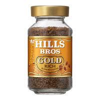 【インスタントコーヒー】日本ヒルスコーヒー ヒルス インスタントコーヒー ブレンドゴールド 瓶 1個(90g)