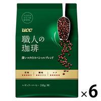 【コーヒー粉】UCC上島珈琲 職人の珈琲 深いコクのスペシャルブレンド 1ケース(300g×6袋)