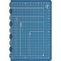 折りたためるカッターマット A4サイズ(折りたたみ時A5) CTMO-A4 ナカバヤシ 1枚