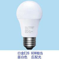 【アスクル限定】アイリスオーヤマ LED電球 E26 広配光 60W相当 昼白色 LDA7N-G-6A14