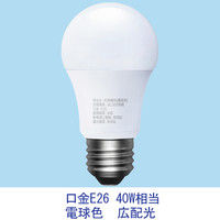 LED電球 E26 40W相当 電球色