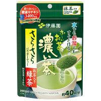 おーいお茶 濃い茶 さらさら抹茶入り緑茶 32g
