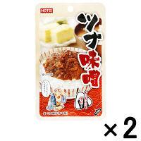 【アウトレット】ホテイ ツナ味噌 <おにぎりにも便利> 1セット(45g×2個)