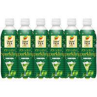 伊藤園 TEAS'TEA(ティーズティー) グリーンティースパークリング 450ml 1セット(6本)