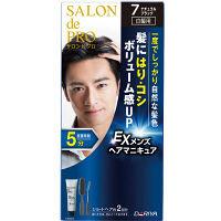 サロンドプロ EXメンズヘアマニキュア 白髪用 7 ナチュラルブラック ダリヤ