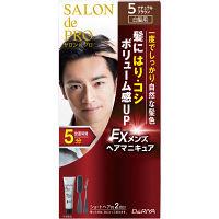 サロンドプロ EXメンズヘアマニキュア 白髪用 5 ナチュラルブラウン ダリヤ