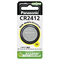 パナソニック コイン型リチウム電池 CR-2412P 1箱 5個