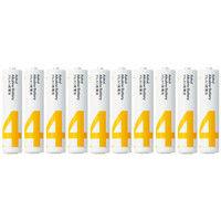 アスクル アルカリ乾電池 単4形 1箱(100本:10本入×10箱)