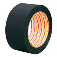 ダイヤテックス 養生テープ パイオラン つや消しテープ 影武者 MT-08-BK 黒 幅50mm×長さ25m巻 1セット(5巻:1巻×5)