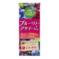 伊藤園 太陽のスーパーフルーツ ブルーベリー&アサイー(紙パック) 200ml 1セット(48本)