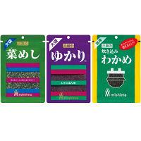 【お買い得セット】三島食品 ゆかり・菜めし・炊き込みわかめ 大袋3種セット