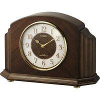 シチズン パルロワイエR705F 木枠電波置時計 1個 4RY705-N06