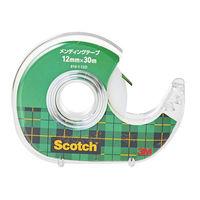 スコッチ(R) メンディングテープ ディスペンサー付 12mm×30m 小巻 810-1-12D スリーエムジャパン