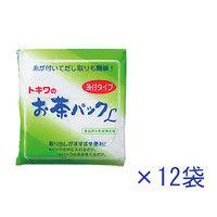 お茶パック糸付Lサイズ 中箱 1箱(312枚:26枚入×12袋) トキワ工業