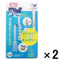 【アウトレット】コジット 排水口吊り下げヘアキャッチャー 1セット(10本:5本組×2)