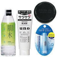【福袋】【数量限定】資生堂福袋 メンズセットA(洗顔料+化粧水+リップクリーム+ワックスミニ) 資生堂