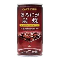 神戸居留地 富永貿易 カフェドリップ ほろにが 炭焼 185g 1セット(60缶)