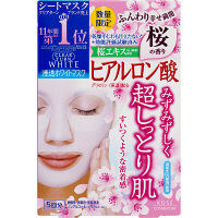 クリアターン ホワイトマスクヒアルロン酸 桜の香り 5枚 コーセーコスメポート
