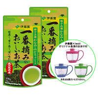 【急須おまけ付】伊藤園 一番摘みのおいしいお茶香り豊潤 1セット(100g ×2袋) + おまけらくらく急須 1個