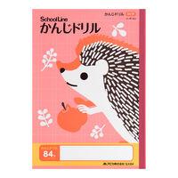 科目名入りスクールライン かんじドリル セミB5 SLK84 1冊 日本ノート