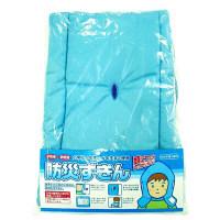たんぽぽ 防災ずきん ブルー 500-2240 1個