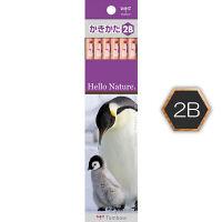 トンボかきかた鉛筆 ペンギン 2B