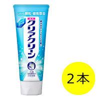 クリアクリーン エクストラクール 130g 1セット(2本) 花王 歯磨き粉