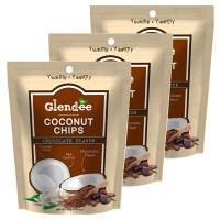 グランディ ココナッツチップス(チョコレートパウダー) 40g×3袋