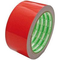 日東エルマテリアル 再帰反射テープ 幅45mm×長さ10m 赤 1セット(5巻:1巻×5) HTー45R