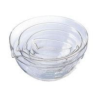耐熱ガラス 片口ボール4個セット