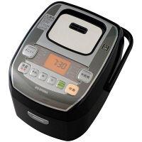 アイリスオーヤマ 米屋の旨み 銘柄炊き分け機能付き 圧力IHジャー炊飯器 3合 黒 RC-PA30-B(567478)