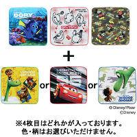 林ディズニーボーイズキャラクター ハンカチタオルおまかせ4枚アソートセット PG413000 1セット(4枚) 林