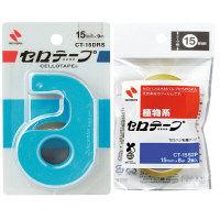 セロテープカッター 小巻テープ2巻付 青