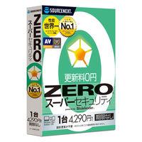 ソースネクスト ZERO スーパーセキュリティ 1台用 マルチOS版 274760 セキュリティソフト 1本