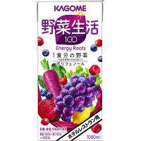 カゴメ ホテルレストラン用 野菜生活100 エナジールーツ 1L 1セット(12本)