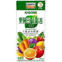 カゴメ 野菜生活100 3倍濃縮 1L 1セット(12本)