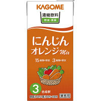 カゴメ 濃縮飲料 にんじん・オレンジミックス 3倍濃縮 1L 1セット(12本)