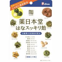 薬日本堂はなスッキリ飴 柑橘ミント味 70g 1袋 ライオン菓子