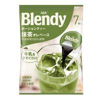 味の素AGF ブレンディ ポーションティー 抹茶オレベース 1袋(7個入)