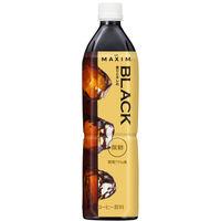 味の素AGF 「マキシム」ボトルコーヒー 香りとキレの ブラック 微糖 900ml 1セット(24本)