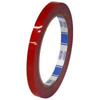 積水化学工業 バッグシーラーテープ Hタイプ 赤 P802R01 1巻