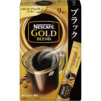 【スティックコーヒー】ネスレ日本 ネスカフェ ゴールドブレンド スティック ブラック 1箱(9本入)