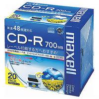 日立マクセル CD-R700MB 5mmプラケース CDR700S.WP.S1P20S 1パック(20枚入)