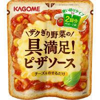 カゴメ カゴメ ザクぎり野菜の具満足! ピザソース 40g×2袋