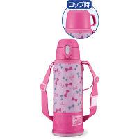 <LOHACO> ZOJIRUSHI(象印)ステンレスボトル 2ウェイボトル 1.03L リボンピンク SP-JA10-PZ画像