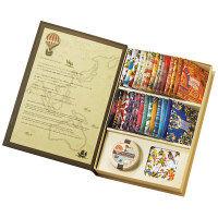 """""""ルピシア(LUPICIA) THE BOOK OF TEA LE VOYAGE (ブックオブティー ヴォワヤージュ)紙袋付き"""""""