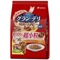 グラン・デリ 犬用 食べやすい超小粒 1.9kg 1袋 ユニ・チャーム
